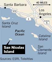 isla de San Nicolás, California