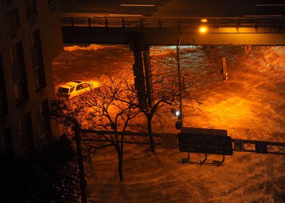 Manhattan inundación 30-12-2012