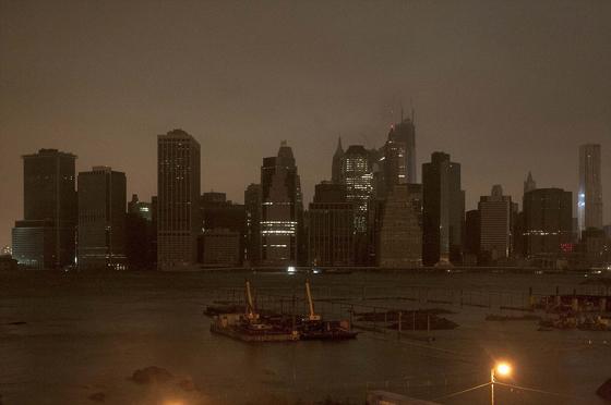Manhattan en la oscuridad 30-10-2012