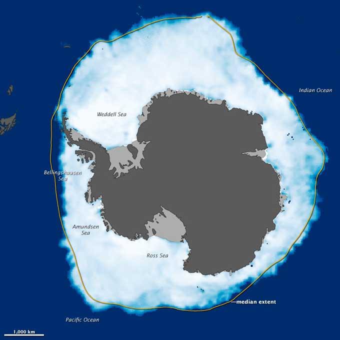 récord máxima extención hielo antártico