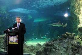ministro de medio ambiente de Australia, Tony Burke
