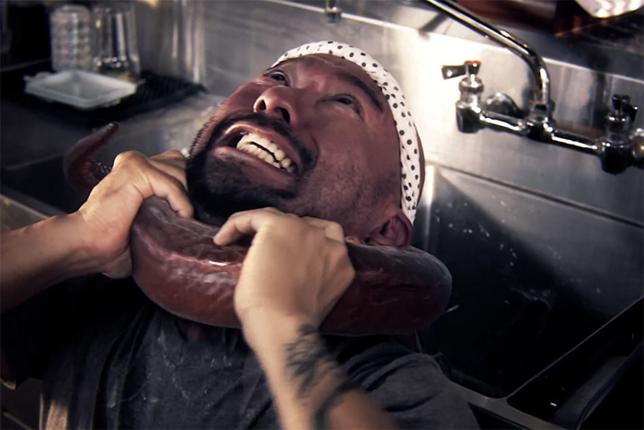 Monster Roll, pulpo gigante ataca en la cocina