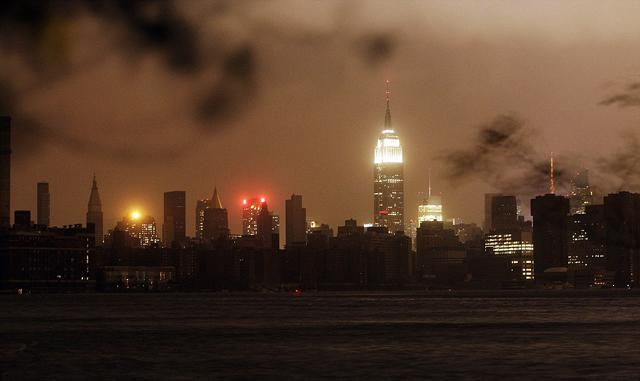 New York en la oscuridad