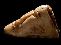 talla vikinga encontrada en Canadá