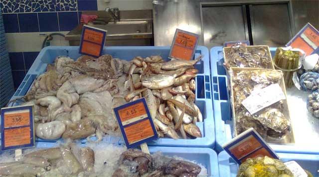 pescadería de Mercadona, Castellón