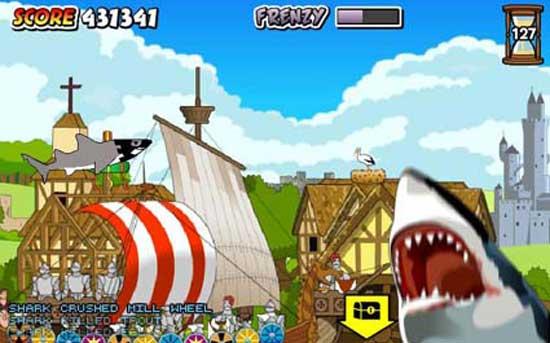 juego tiburón asesino medieval