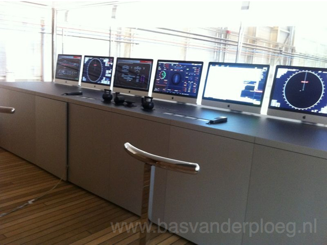 puente de mando del yate de Steve Jobs 'Venus'