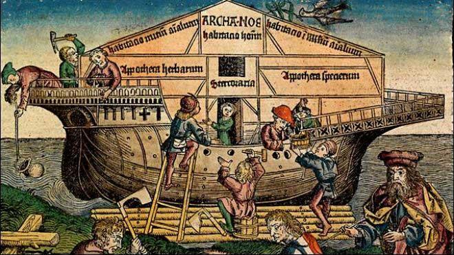 Arca de Noé - Museo de Nuremberg