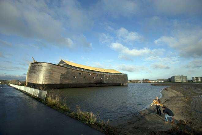 réplica del Arca de Noé