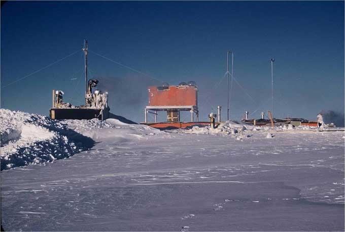 Estación Byrd - Antártida