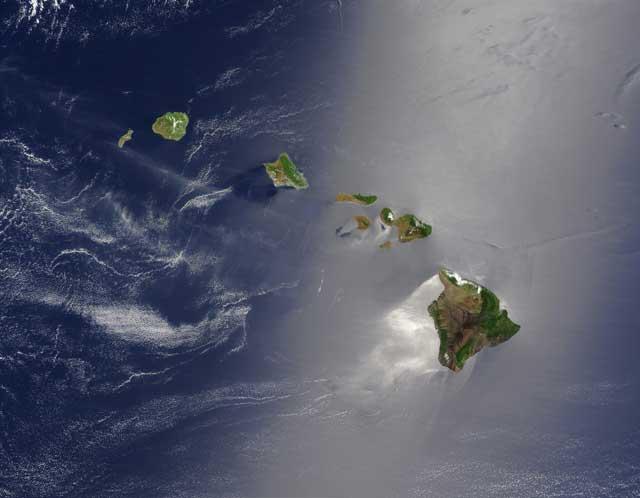 islas Hawaii - NASA