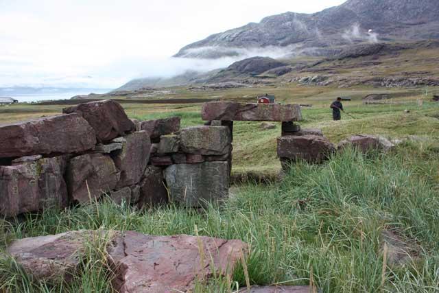 ruína nórdica en Groenlandia