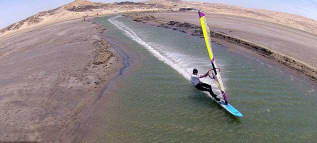 Zara davis récord de velocidad de windsurf