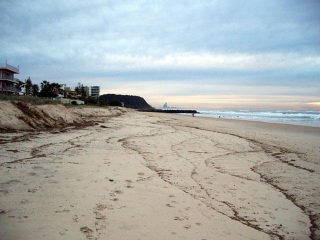 erosión de la playa de Palm Beach, Australia