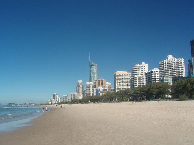 erosión de las playas por la subida del nivel del mar