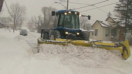 maquina quita nieves en EE.UU.