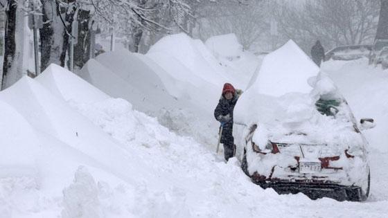 nevada en Massachusetts, febrero 2013
