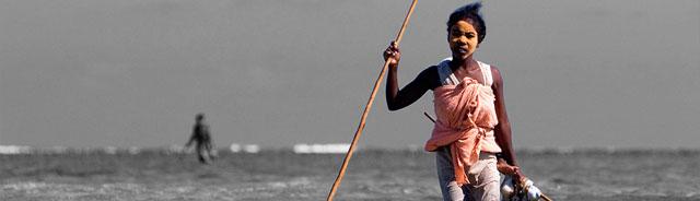 pesca de pulpo en Madagascar