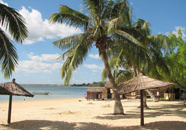 una playa en Toliara, Madagascar