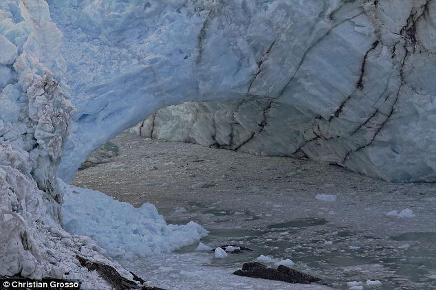 puente de hielo del Glaciar Perito Moreno