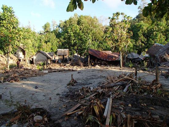 tsunami en las Islas Salomón