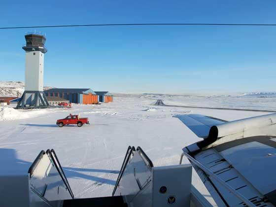 base aérea de Thule en Groenlandia