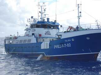 buque pesquero Talasa