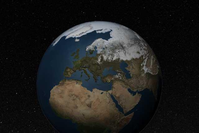 máximo de hielo marino del Ártico marzo de 2012