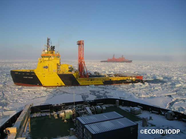 perforación hielo en el Océano Austral