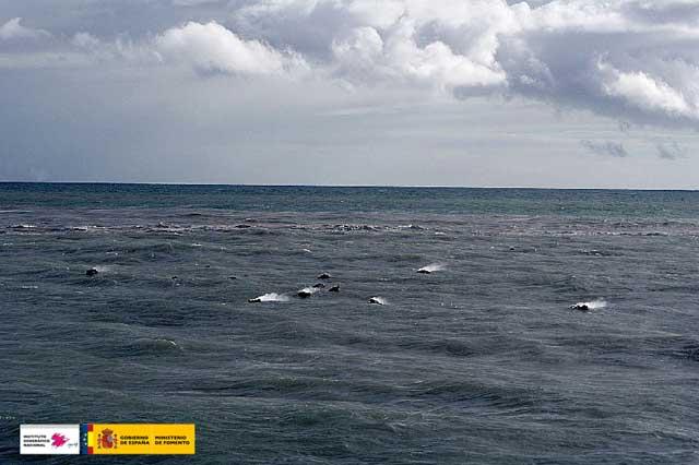 restingolitas durante la erupción submarina de El Hierro