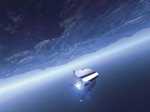 satélite GOCE, concepción artística