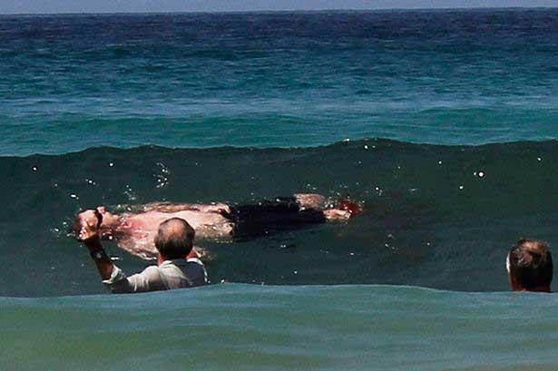 víctima de un ataque de tiburón en Ciudad del Cabo