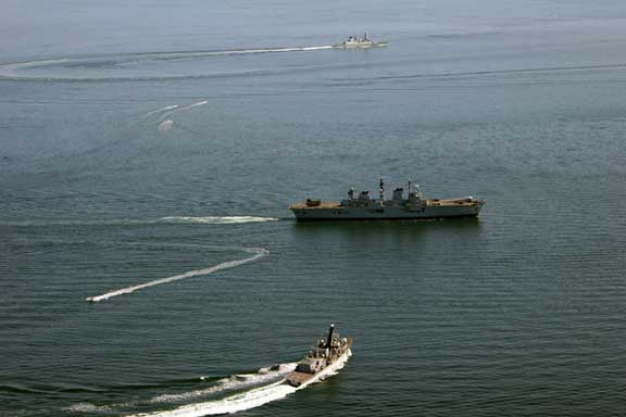 ejercicios navales