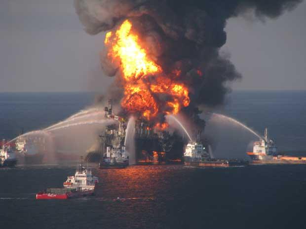 explosión plataforma petrolera DeepWater Horizon