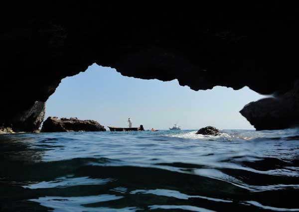 Túnel hasta la Playa del Amor, Puerto Vallarta, México