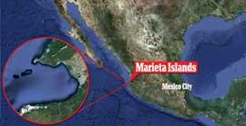plano de situación Playa Escondida, Puerto Vallarta, México