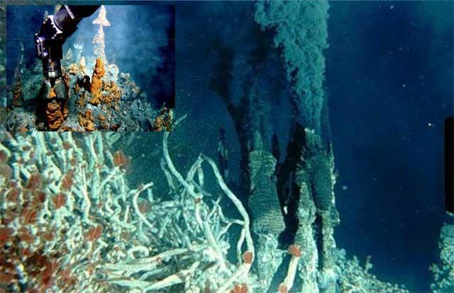 respiraderos hidrotermales