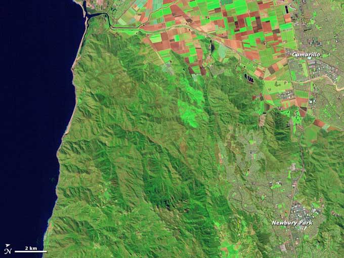 zona de California en 2010