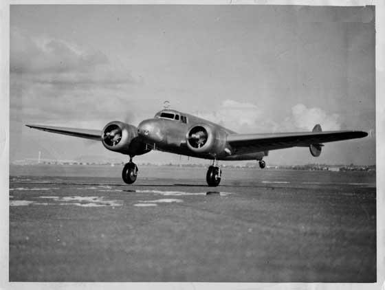 Lockheed Electra circa - 1937 de Amelia Earhart