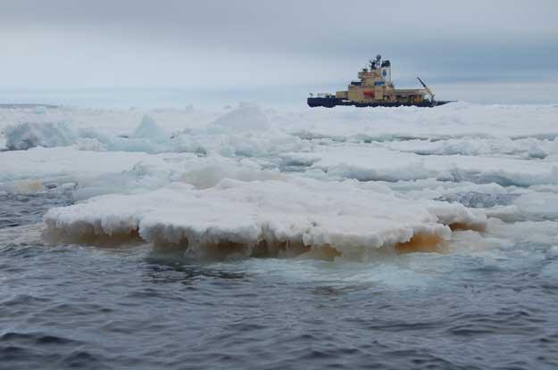 buque oceanográfico sueco Oden