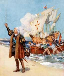 Colón descubre América