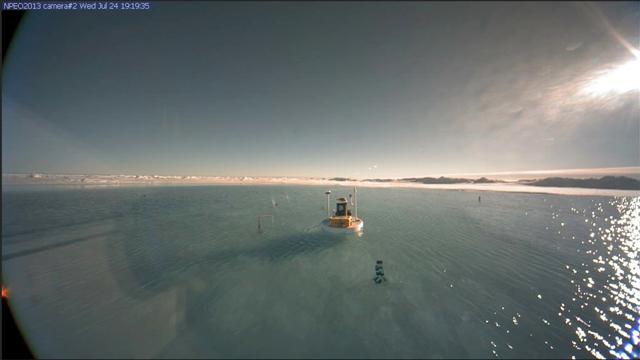 deshielo en el Polo Norte