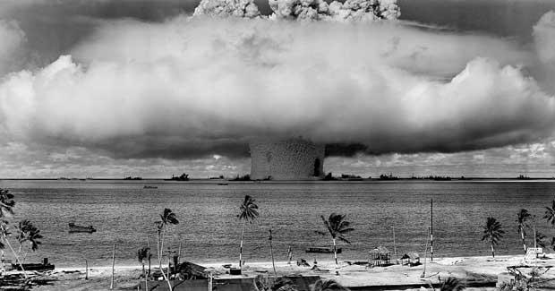 explosión nuclear Castle Bravo en el Atolón Bikini