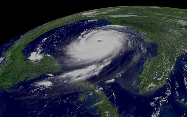 GOES - huracán Katrina
