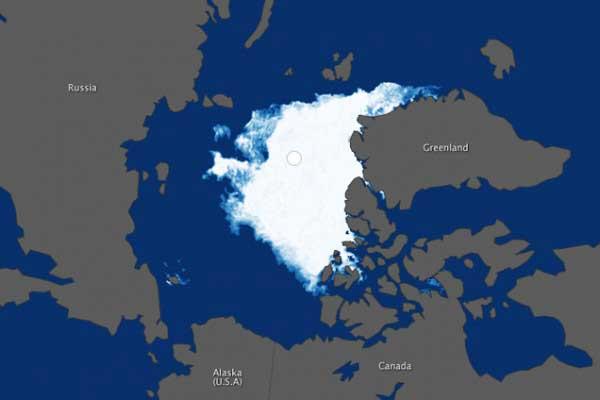 hielo marino del Ártico