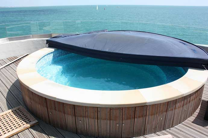 Hotel fortaleza Spitbank, piscina hidromasaje