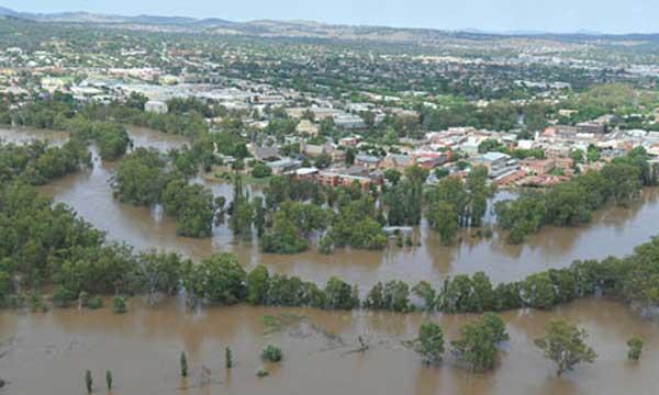 inundaciones en Australia 2010