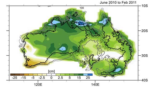 lluvias en Australia 2010-2011