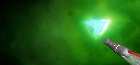mini submarino DADU, bajo el hielo subglacial