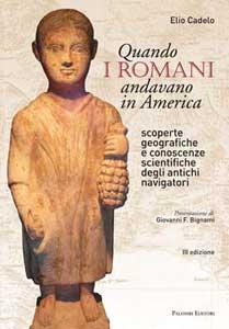 libro romanos en América de Elio Cadelo
